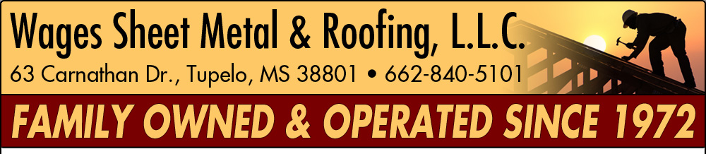 Wages Sheet Metal & Roofing